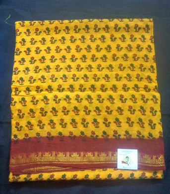 Sungudi cotton 9 yardz