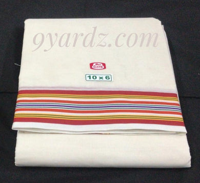 Super fine Cotton  Dhothi 10*6