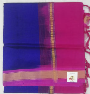 Pure Silk cotton- simple border