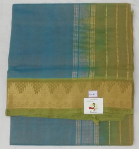 Pure Silk Cotton-Temple Border