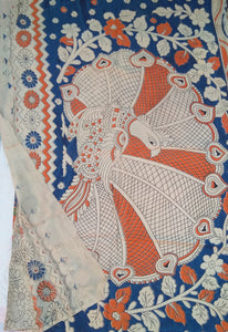 Kalamkari silky cotton