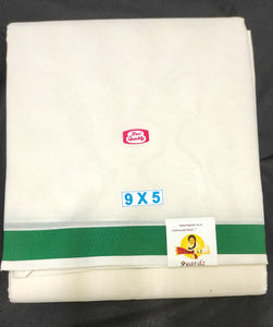 Super fine Cotton  Dhothi 9*5