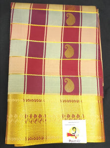 Pattu Pavaadai Art silk