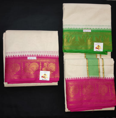 Pure cotton dhothi 12*7