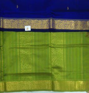 Pure silk cotton with butta -10 yards madisar