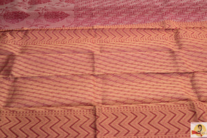 Chirala Handloom Cotton Saree- Pink