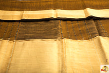 Load image into Gallery viewer, Maheshwari Silk Cotton- Golden Brown