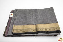 Load image into Gallery viewer, Maheshwari Silk Cotton- Grey