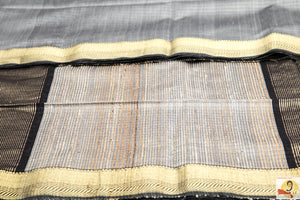 Maheshwari Silk Cotton- Grey