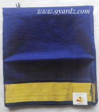 Load image into Gallery viewer, Pure Silk cotton - Blue Vairaoosi
