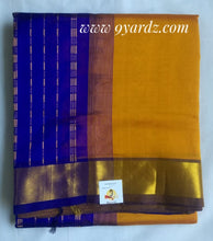 Load image into Gallery viewer, Pure silk cotton - Mustard yellow by purple
