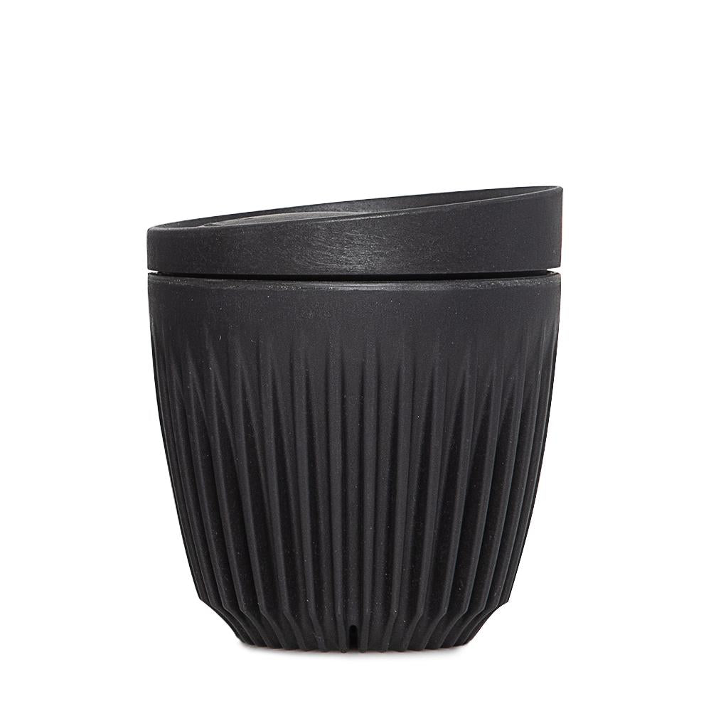 6oz  Single Unit Packaging (Cup and Lid) (Charcoal)