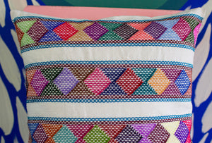 Hand-made Colorful Geometric Pillows