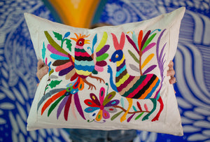 Hand-made Otomi pillow