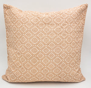 Hand-Loomed Blush Geometric Pillow- 20