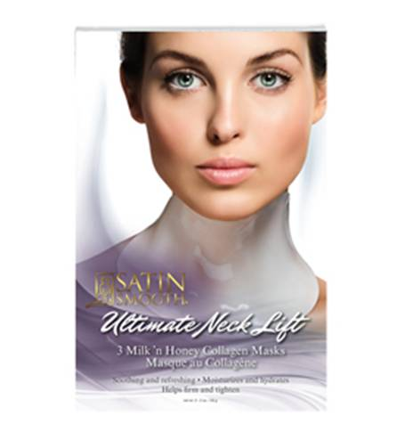 Satin Smooth Ultimate Neck Lift Collagen Mask