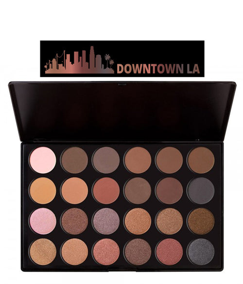 Downtown LA Shadow Pallette, 24 shades, J.Cat beauty