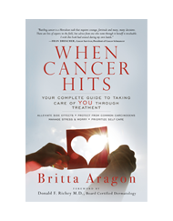 CV Skinlabs Book- When Canceer Hits by Britta Aragon