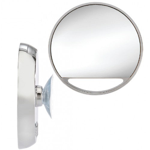 Brandon 10x LED Lighted Suction Travel Mirror, M-827
