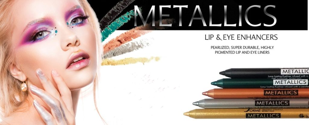 Sorme Metallics Eyes & Lips Pencils