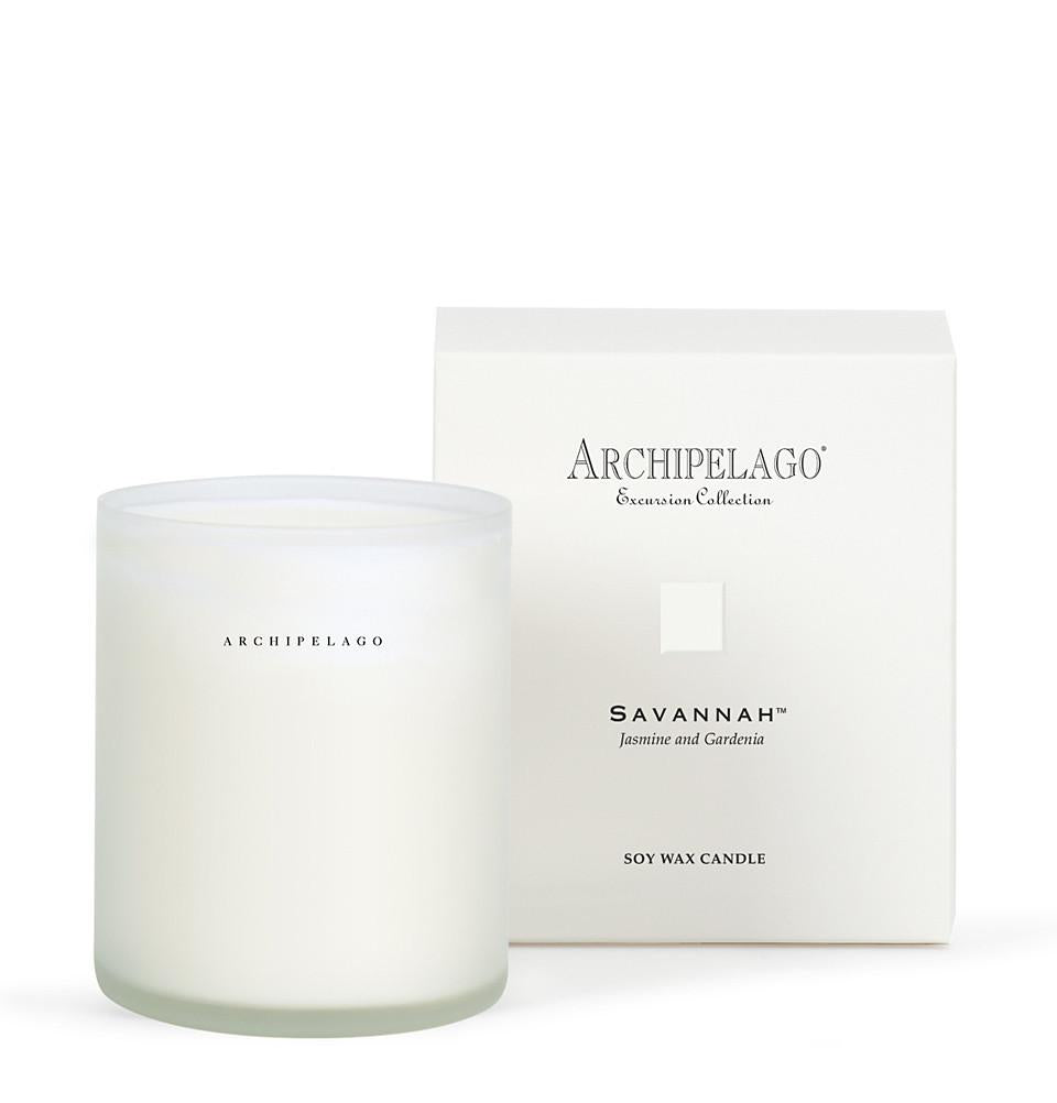 Archipelago Botanicals Savannah Boxed Candle