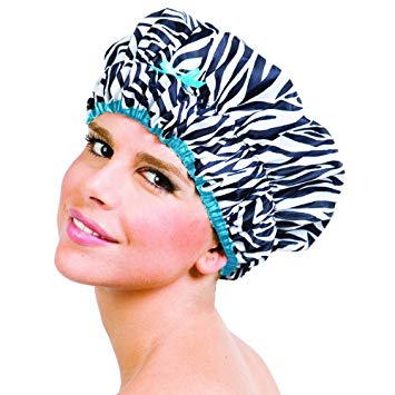 Betty Dain Creations Shower Cap Sassy Stripes