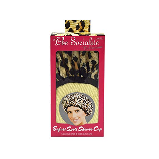 Betty Dain Shower Cap Safari Spots