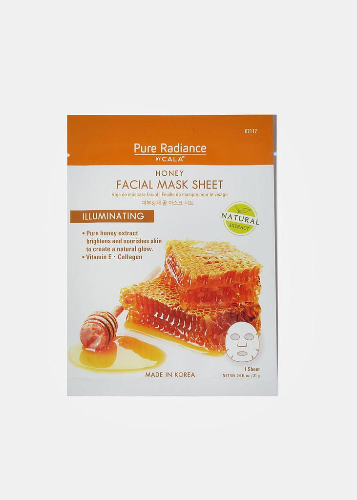 Cala Pure Radiance Honey Facial Masks