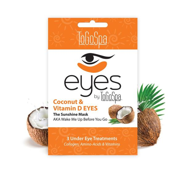ToGoSpa Coconut Eyes Collagen Mask