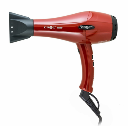 Croc Hybrid Blow Dryer -- Red