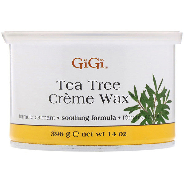 GiGi Honee Tea Tree Creme Wax 240, 14 oz.
