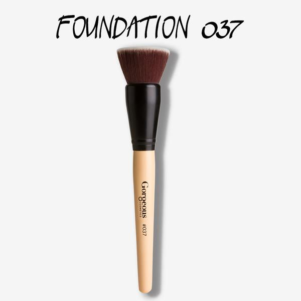 Gorgeous Cosmetics Foundation Buff Brush #037