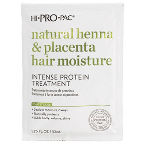 Hi Pro Pac Natural Henna & Placenta Hair Moisture Intense Protein Treatment