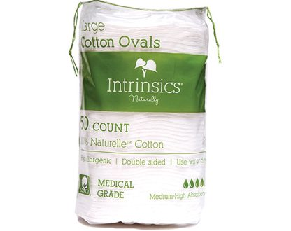 Intrinsics Large Cotton Ovals 50 count