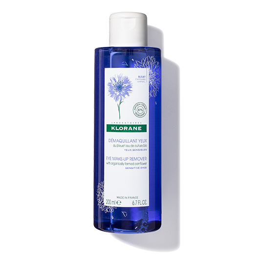 Klorane Floral Lotion Eye Makeup Remover With Cornflower for Sensitive Eyes