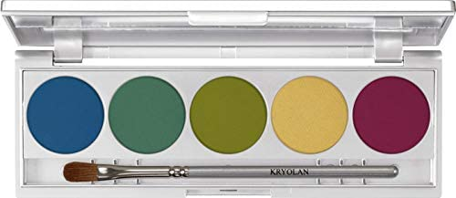 Kryolan Shades 5 Colors Shadow Palette Rio