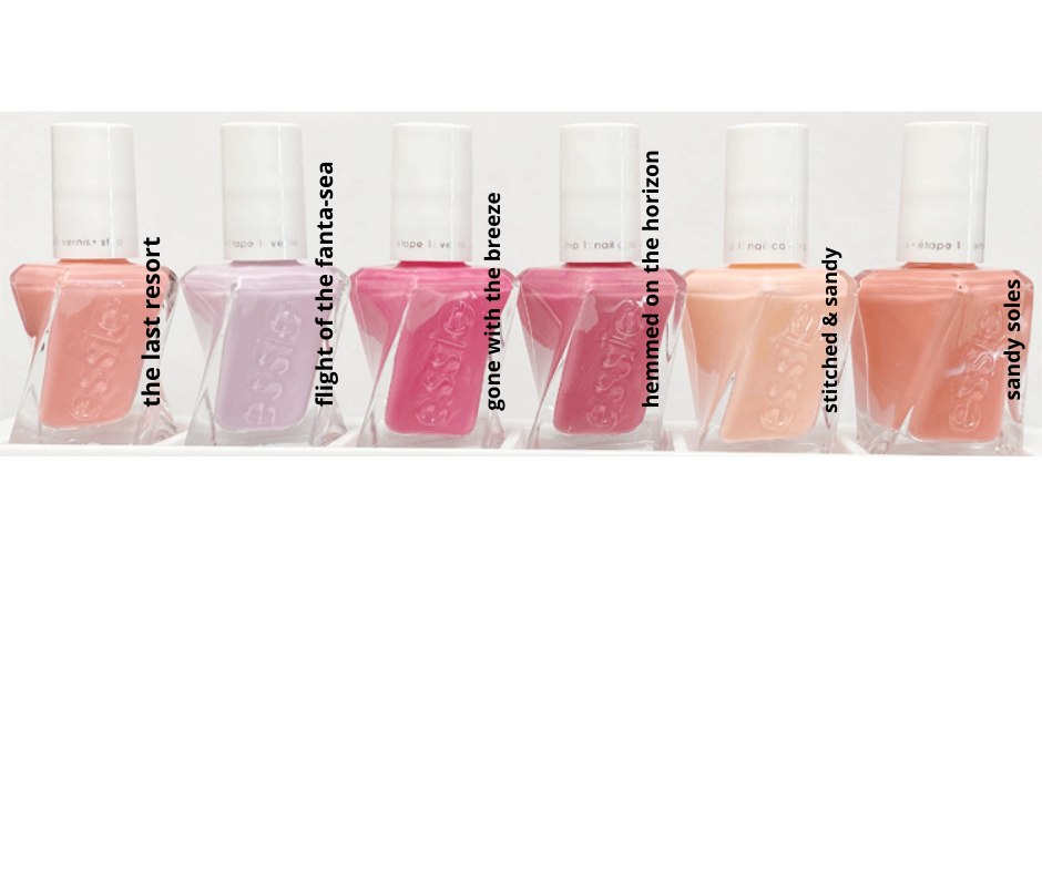 Essie Gel Couture Hemmed on the Horizon Collection 2020