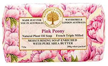 Wavertree & London Pink Peony French Milled Soap