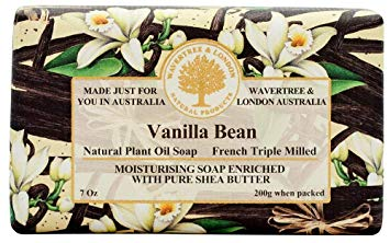 Wavertree & London Vanilla Bean French Milled Soap