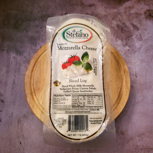 DiStefano Mozzarella Cheese Sliced