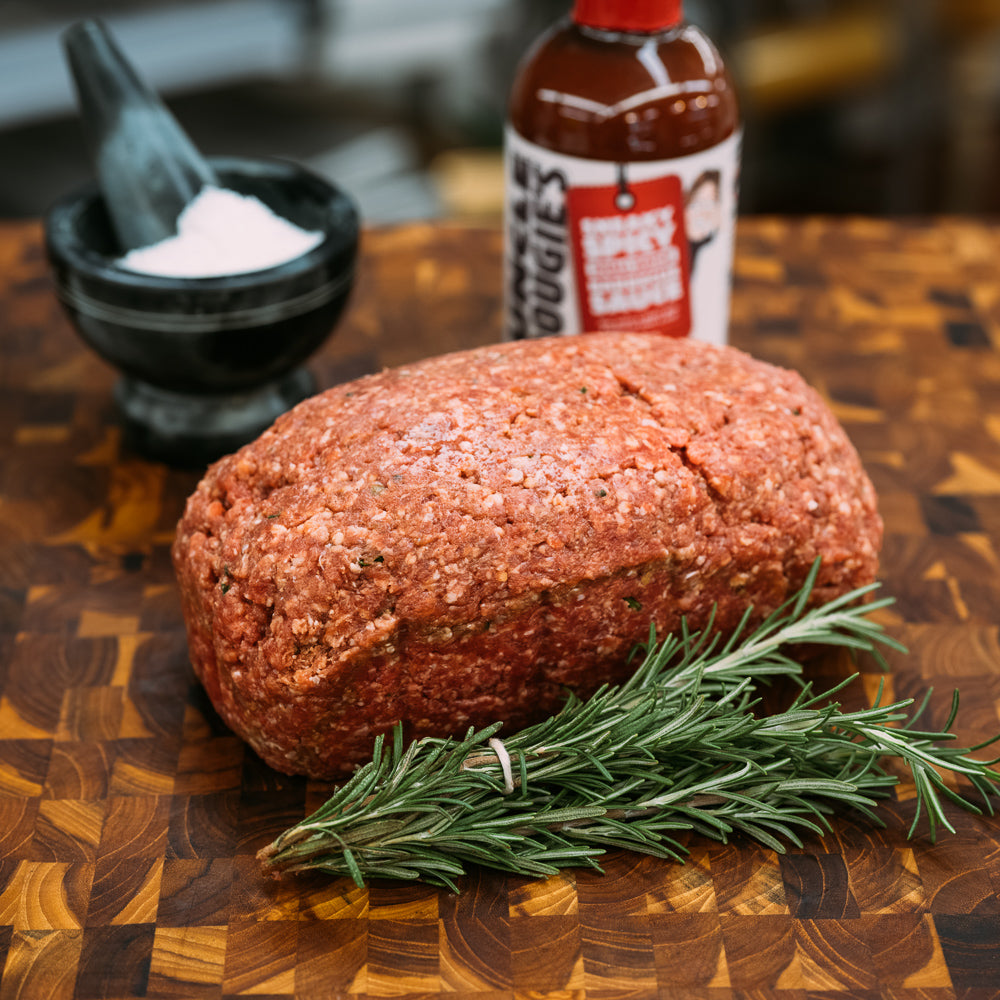 Beef and Pork Meat Loaf