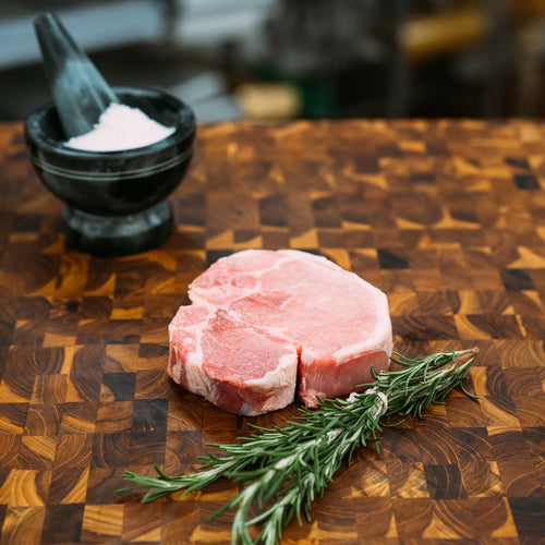 Niman Ranch Pork Loin Chop Bone-In (2 Chops)