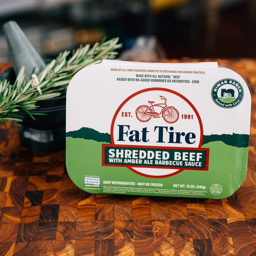 Niman Ranch Fat Tire Shredded Beef with Barbecue Sauce