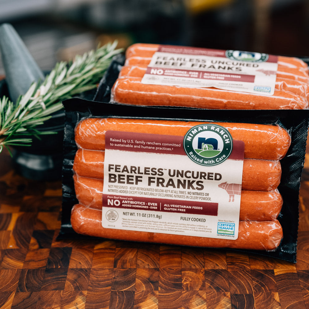 Niman Ranch Fearless Uncured Beef Franks