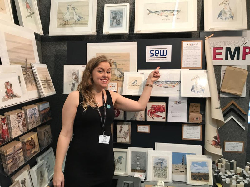 The Knitting & Stitching Show- Ally Pally 2018