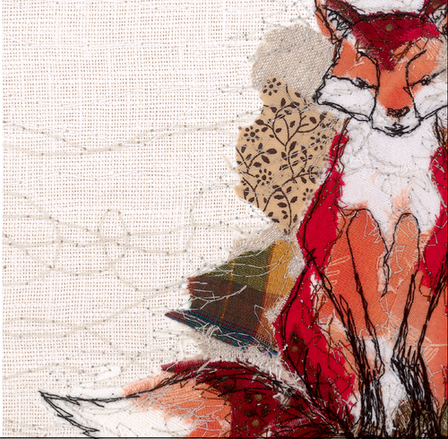 The Thread Thief Fox Note Cards (6 Pack)