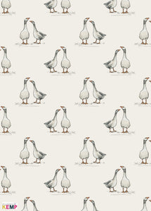 The Gaggle Wrapping Paper
