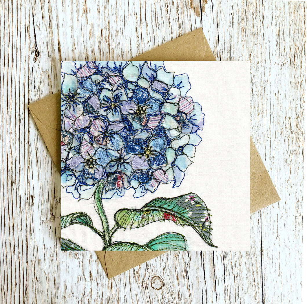 Midsummer Gather Embroidery Art Card