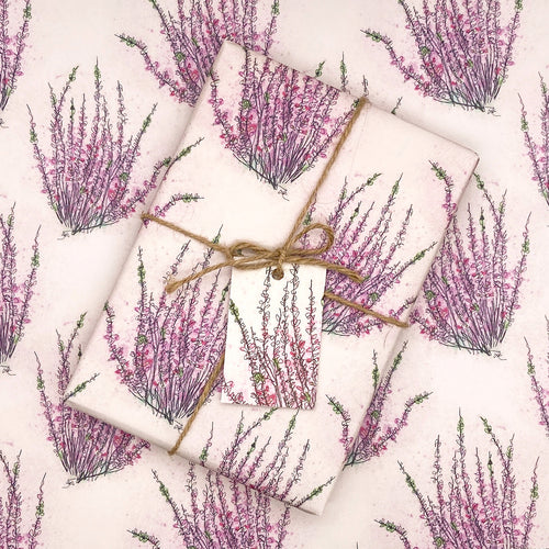 Wild Heather Wrapping Paper