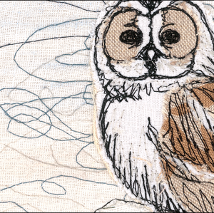 The Winter Moon Owl Note Cards (6 Pack)